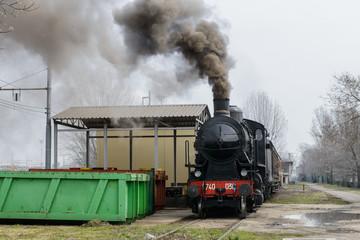 Treno a vapore 7
