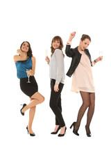 Mädels beim feiern