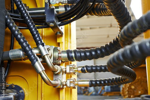 Hydraulics of machinery - 78643857