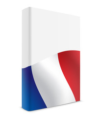 France book cover flag white