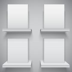 Blank White Boxes