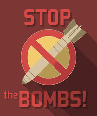 stop bombs symbol