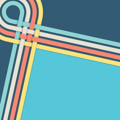 retro blue backround stripes