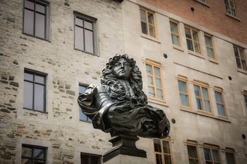 King Louis XIV Statue,