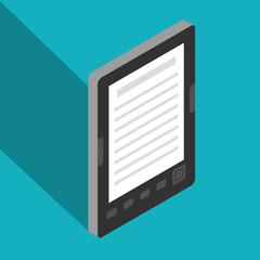 E-Book isometric