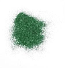 grüner Glitter