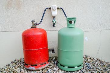 Bouteilles de gaz, domestique