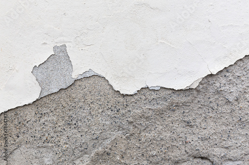 canvas print picture Wheathered cracked wall