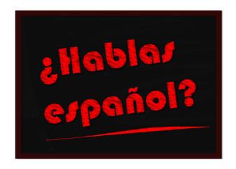 So you speak Spanish?