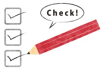 Check 鉛筆
