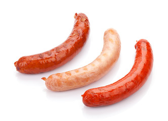 Various grilled sausages