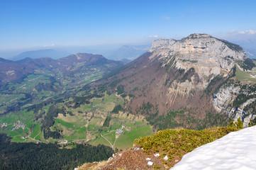 paysage vallée de la Chartreuse