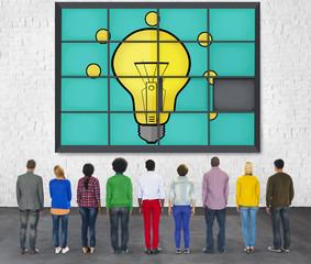 Ideas Puzzle Problem Solving Inspiration Creativity Concept