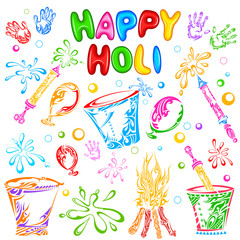 Object for Holi festival