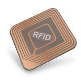 RFID chip (3D)