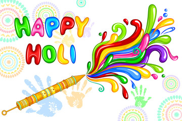 Holi celebration background