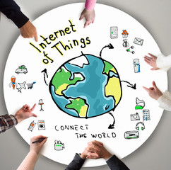 Internet of Things, business concept