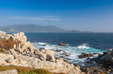 Island Coastline, Santa Cruz Island, California