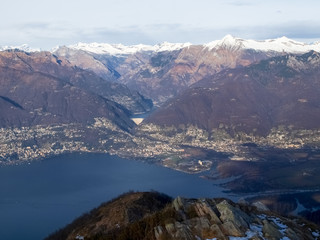 View of the Lake Maggiore