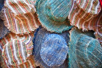 Textile caps