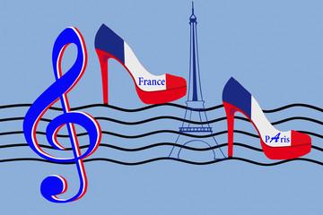 Cabaret Parisien -  Revue - Danse - Musique
