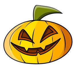 Jack-O'-Lantern - Halloween Vector Illustration
