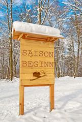 Saisonbeginn im Wintersport