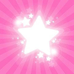 Stars frame - Fond étoilé