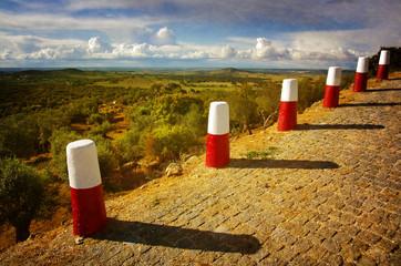 Roadside Pillars