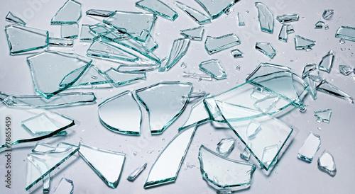 Leinwandbild Motiv Glasscherben