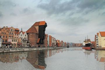 City center of Gdansk, Poland