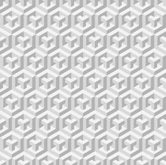 Cubic seamless pattern. Vector illustration