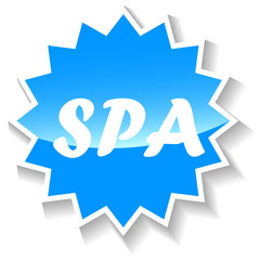 Spa blue icon