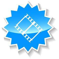 Film blue icon