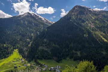 Paznaun Valley in Tirol
