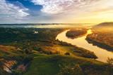 Fototapety beautiful scenery of river Dniester