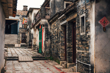 old chinese city dapeng