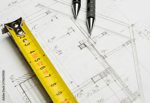 Preparation for drafting papers, the tools and schemes on the ta - 78659000