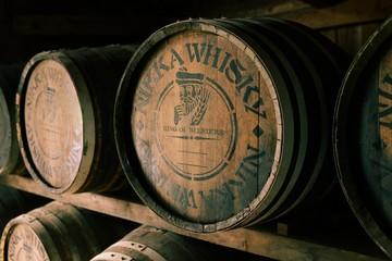 ウィスキー醸造樽