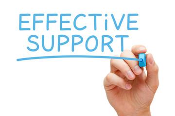 Effective Support Blue Marker