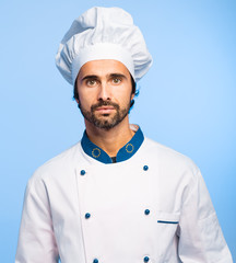 Mature chef