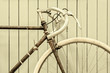 Retro styled image of a racing bicycle