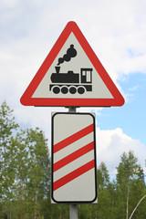 Schild für Bahnübergang (2)
