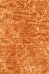 Recycle Brown Kraft Paper Coarse Crumpled Bleached Mottled Grung