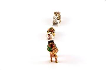 Three camels in a row souvenir