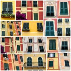 Fenêtres de Portofino - Italie