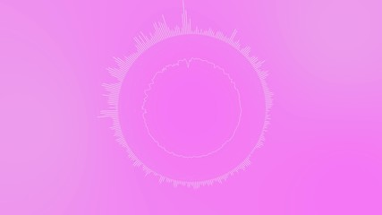4k pink abstract motion background dancing lines