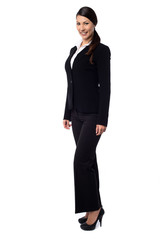 Attractive young corporate woman