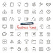 Hand-Drawn Business Icons - 78662866