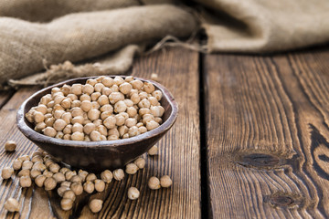 Portion of Chick Peas